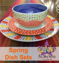 Hand Painted Dinnerware Sets & SpringDishes