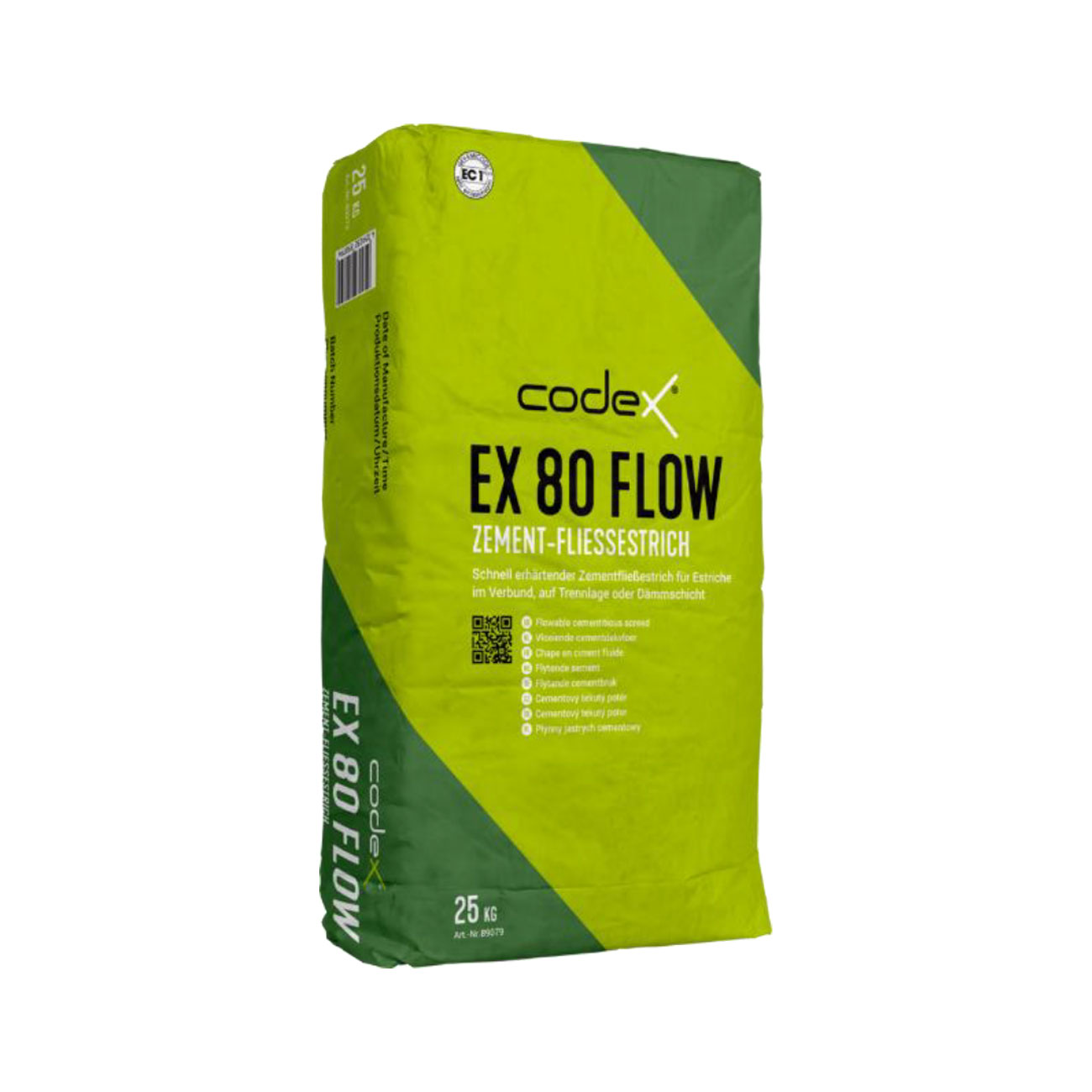 Badeinrichtung Software Codex Ex 80 Flows Zementstrich 25kg
