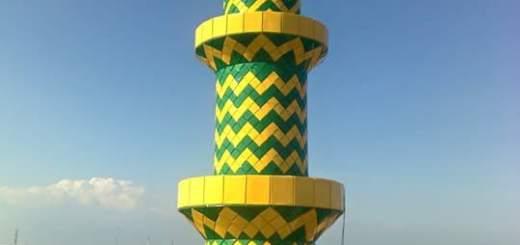 foto,proses,pemasangan,erection,tower,menara,masjid,mushola,denah,konstruksi,ukuran,contoh,gambar,desain,struktur,bentuk,segi enam,pilar