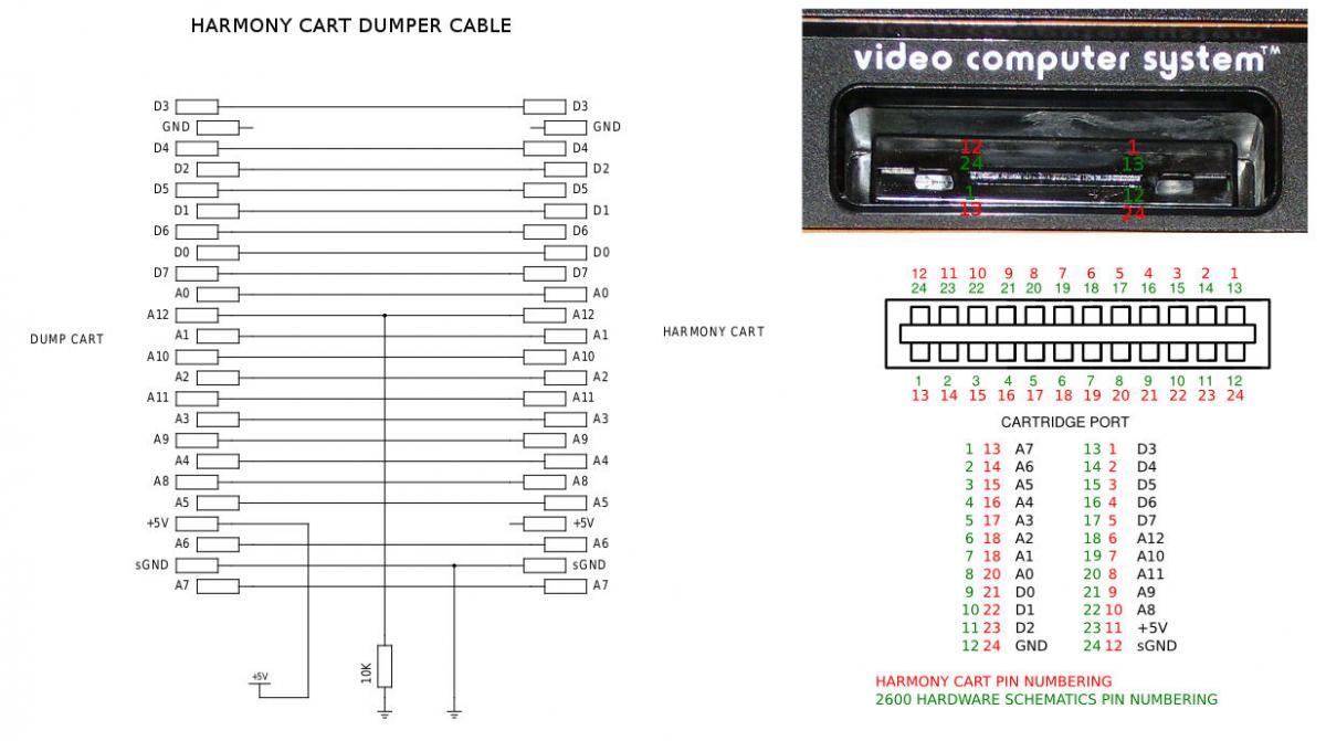 atari 2600 wiring diagram