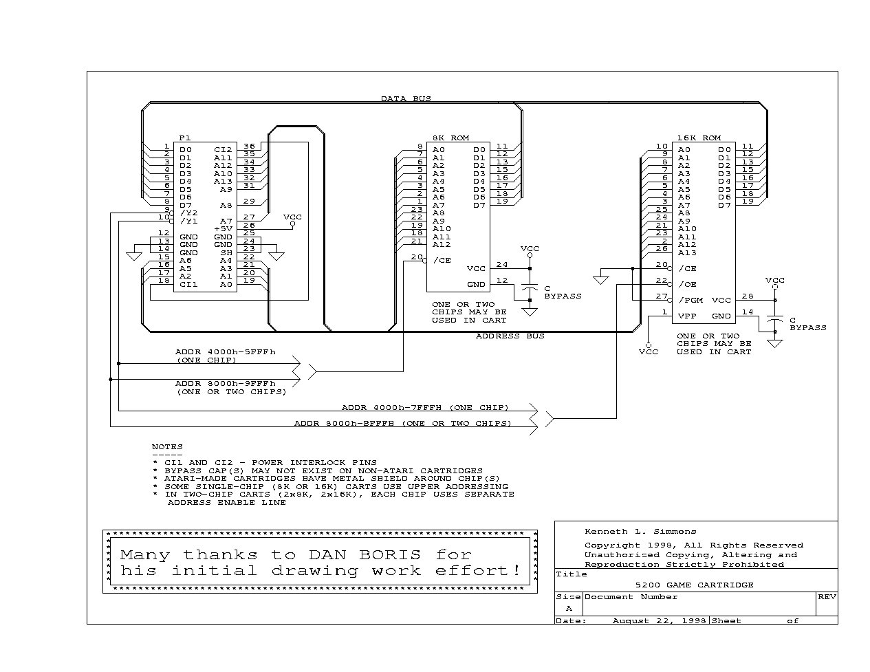 atari game controller wiring diagram
