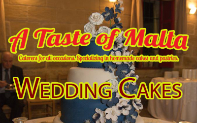 Wedding and Birthday Cake makers Cardiff - A Taste of Malta