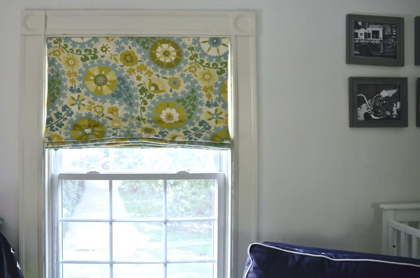 Diy Roman Shades Easy Lined Roman Shades