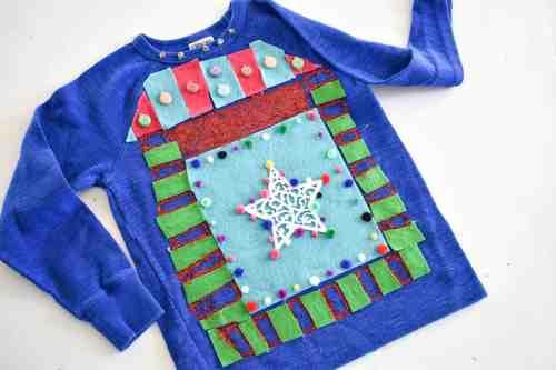 Medium Of Diy Ugly Christmas Sweater