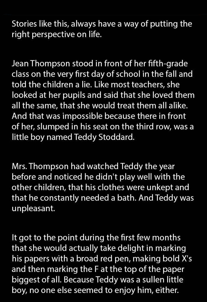 Teacher Enjoyed Failing This Student, But Got Shocked When She