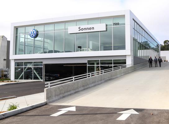 Sonnen Volkswagen car dealership in San Rafael, CA 94901 Kelley