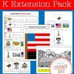 FREE Patriotic Symbols Kindergarten Activities