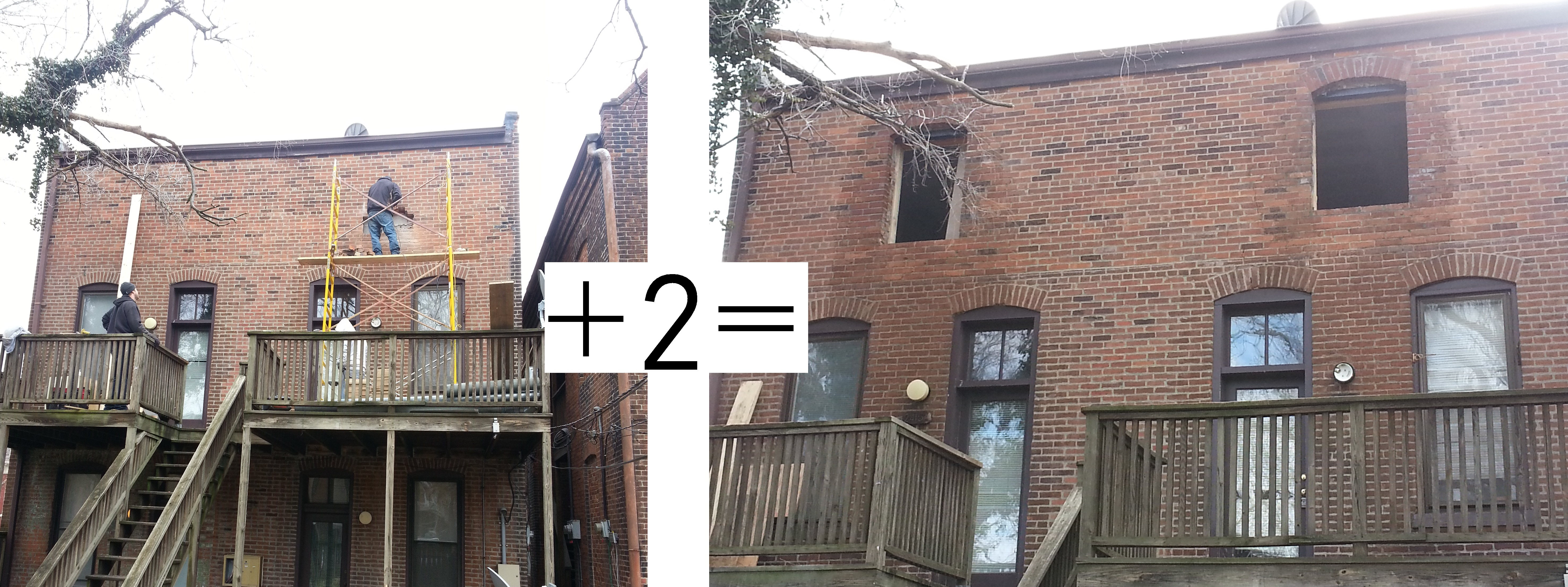 Adding Brick Wall Interior Brick Math Adding Subtracting Windows Doors From Your Wall