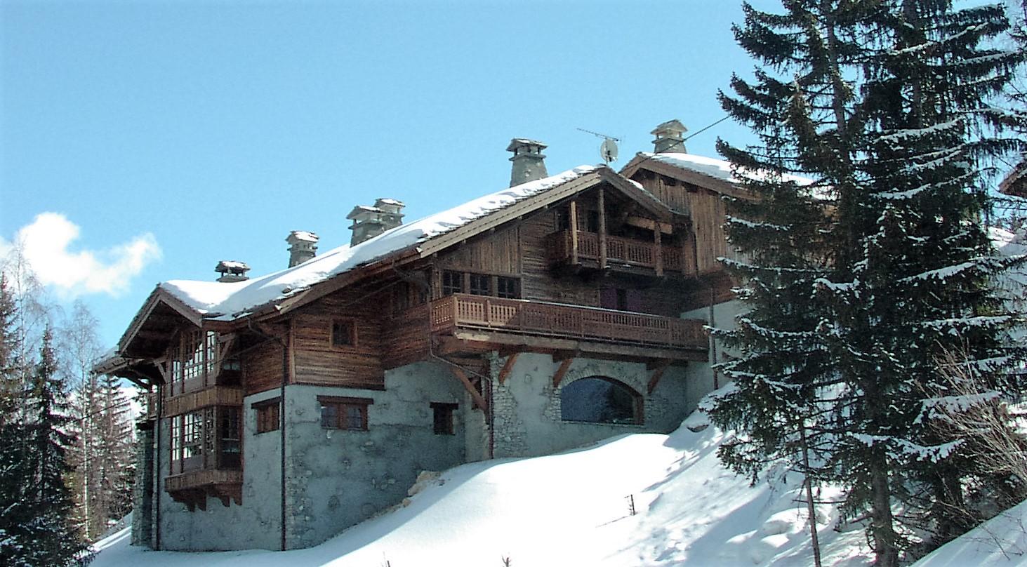 13 chalets de montagne courchevel 1550 atelier raymond brun architectes - Construction de chalet ...