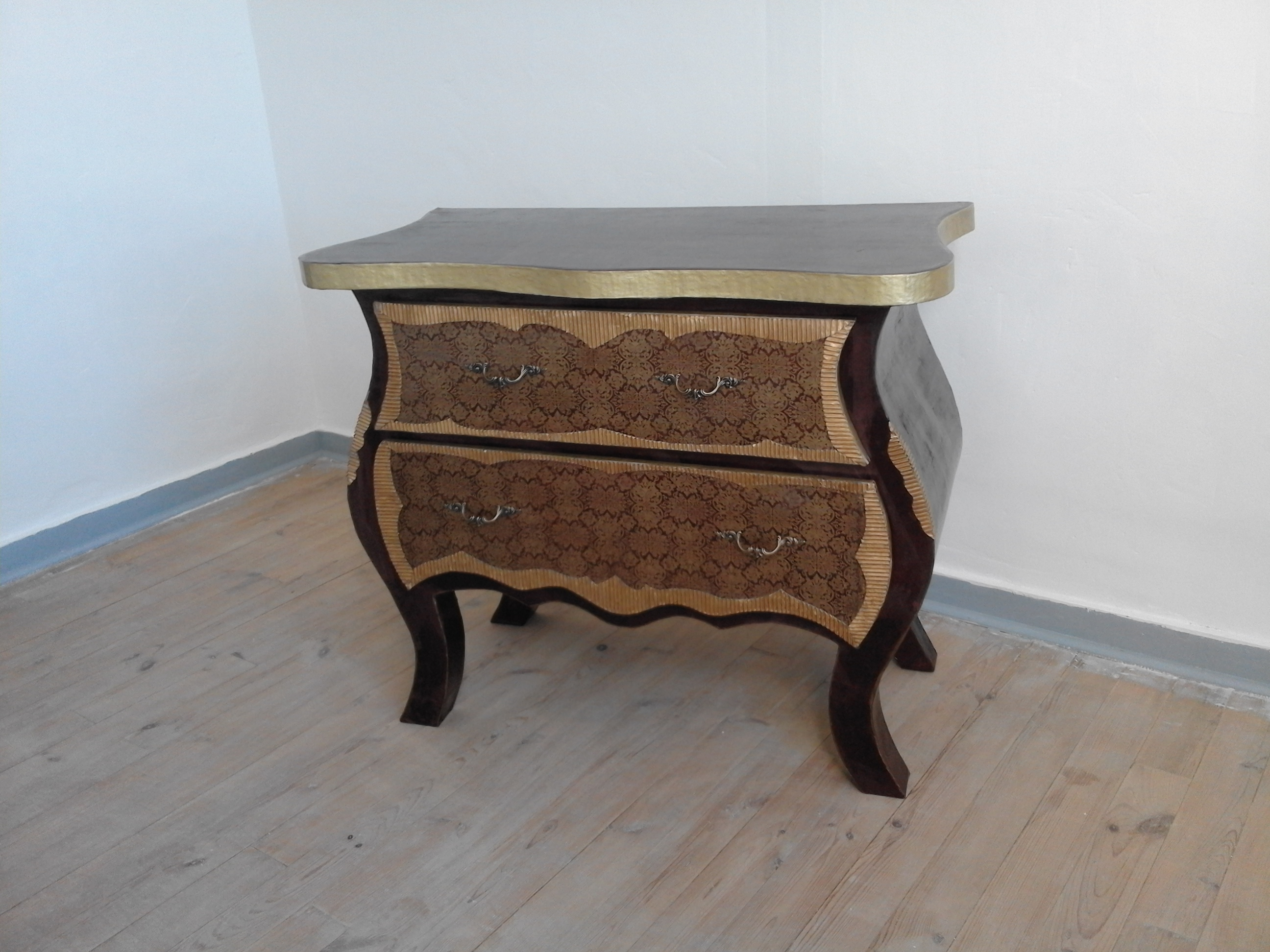 Commode En Carton Commode Originale Commode Sur Mesure Chiffonnier En