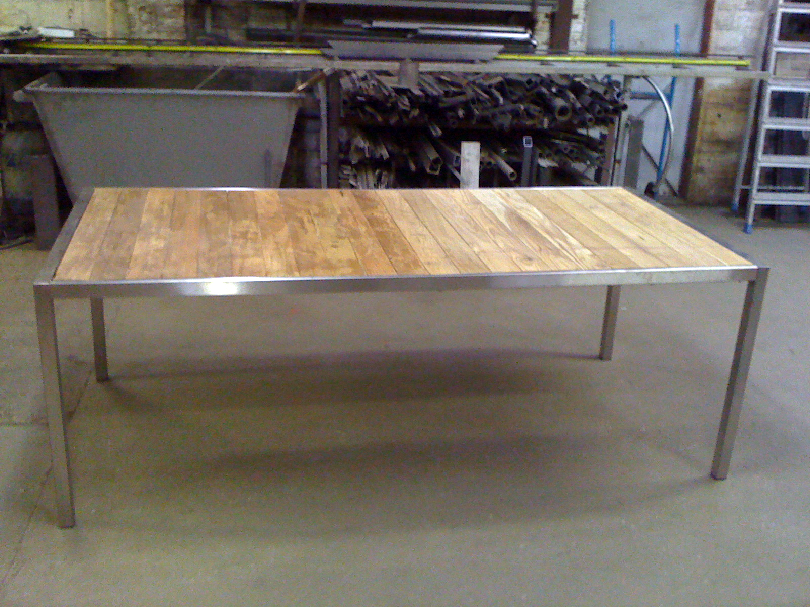 Table Exterieur Inox