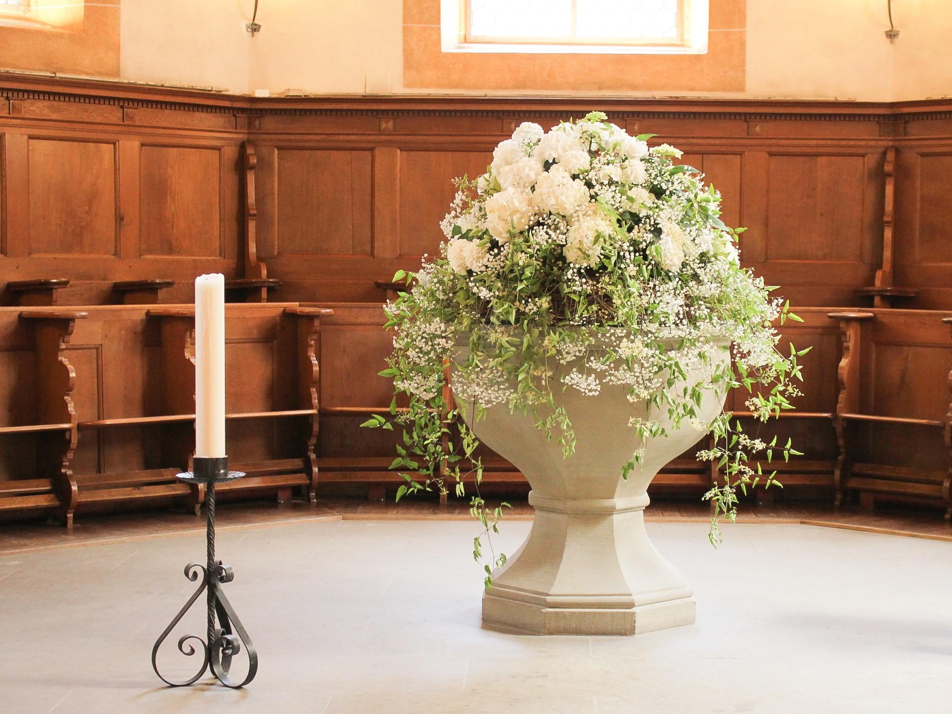 Deko Hochzeit Kirche Altargesteck Hochzeit Kirchenschmuck Hochzeit