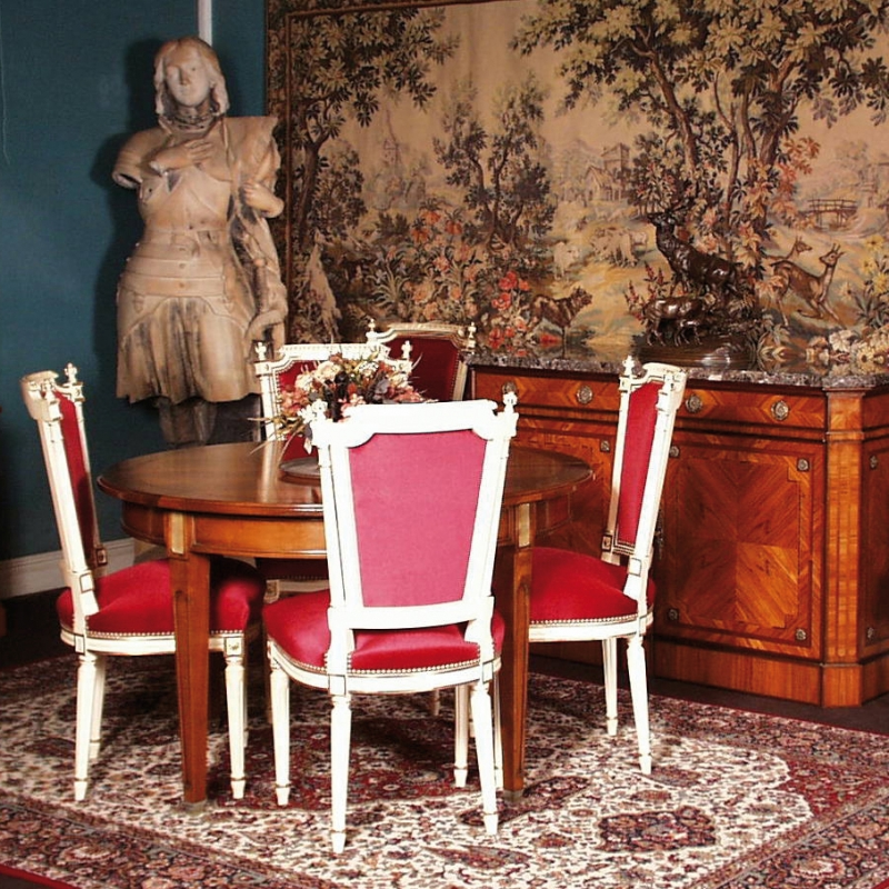 Meuble Style Louis Philippe Chaise Marie-antoinette Style Louis Xvi - Louis Xvi