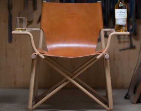 The Nàdurra Dram Chair by Gareth Neal