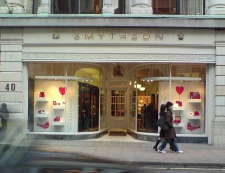 Smythson shop front bond street