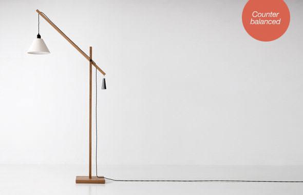 Steuart Padwick sticks floor light benchmark furniture