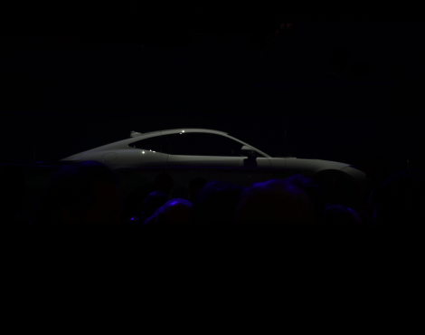 Moving standing still…Jaguar's F-TYPE Coupé launch