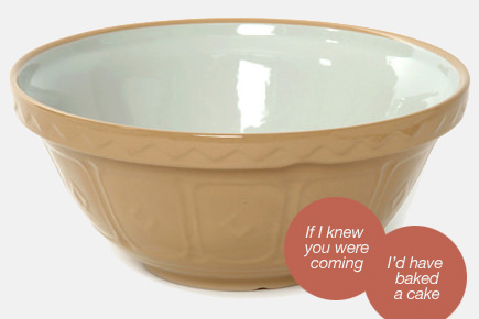 Mason cash mixing bowl