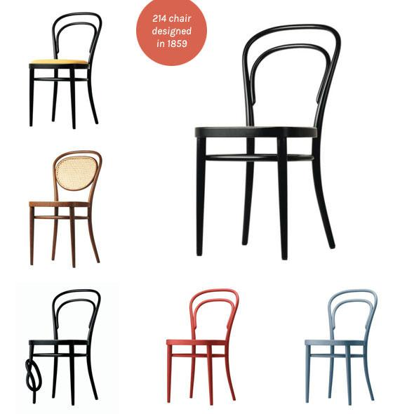 thonet-214-chair-options