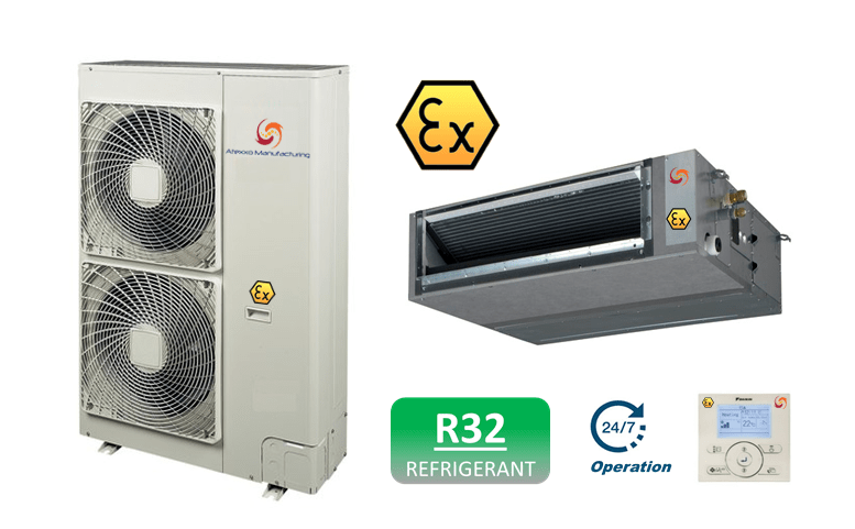 Ex Proof Ac Units R32 Atexxo Manufacturing