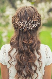 Half Up Half Down Wedding Hairstyles: 42 Charming Looks