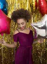 Dazzling night out hair ideas for New Year's Eve