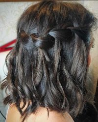 These braids for short hair are super easy to style - All ...