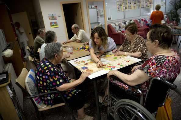 Μη μου ζητήσεις να σπρώξω το καροτσάκι σου: Γηροκομείο στην Καταλονία, Ισπανία