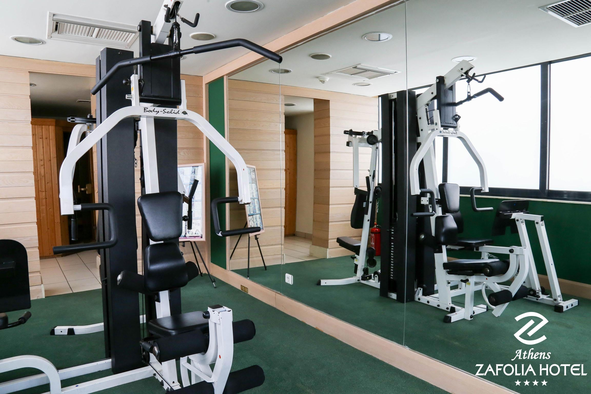 Divani Caravel Gym Athens Zafolia Hotel Official Website