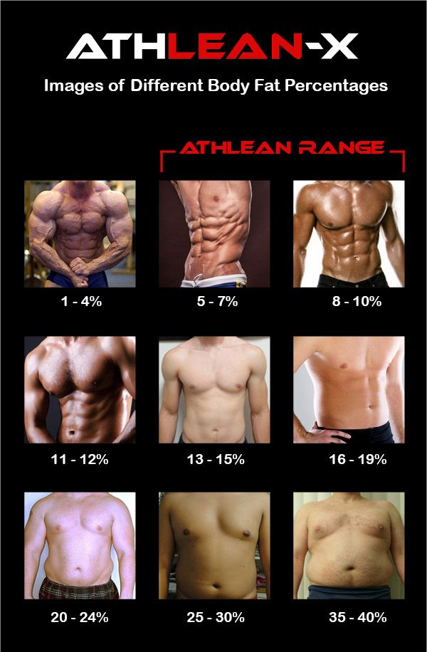 Body Fat Percentage How to Quickly Identify Your Body Fat Level