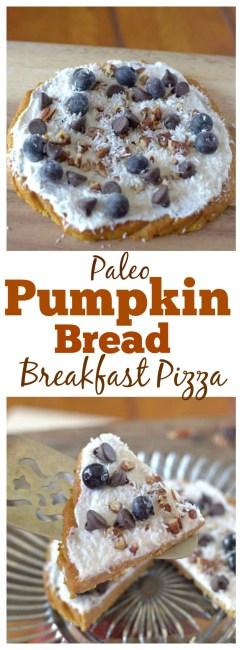 Pumpkin Bread Breakfast Pizza