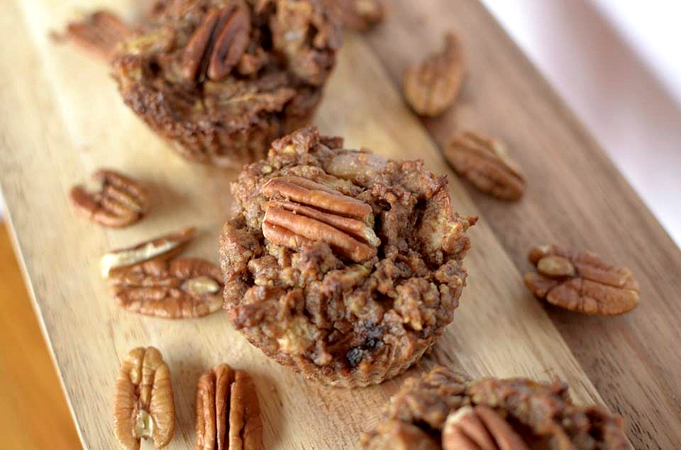 Flourless Apple Pecan Muffins 1