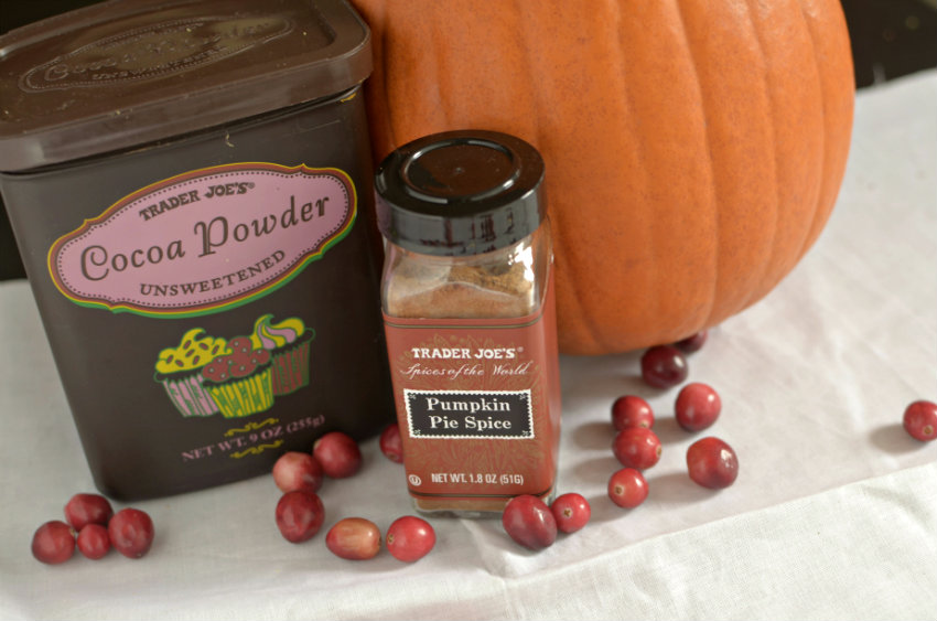 Cranberry Pumpkin Spice Hot Chocolate is the perfect holiday drink to keep you all warm and cozy!