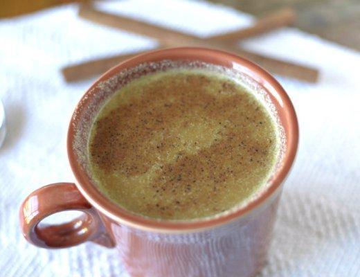 pumpkin eggnog latte