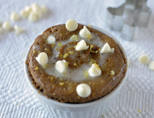 Gingerbread Mug Cake 2