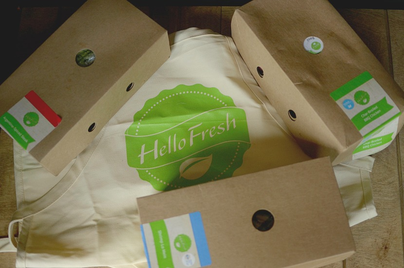 hello fresh boxes