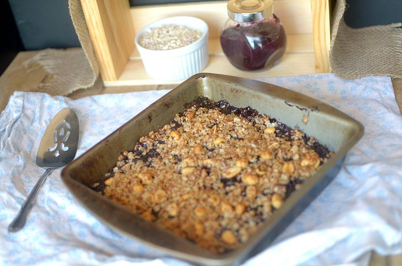 Peanut Butter & Jelly Chickpea Coffee Cake {Vegan + Gluten ...