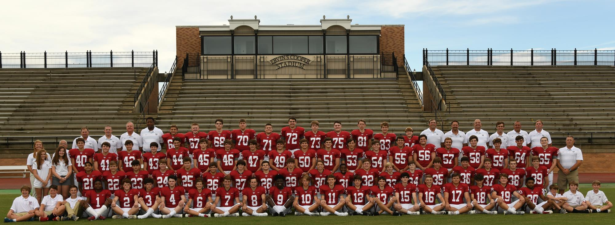 Alabama Football Roster 2018 Varsity Football Roster Ums Wright Preparatory School