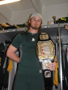 "Josh Reddick: The undisputed champion of the ""Bernie Lean"" dance competition"