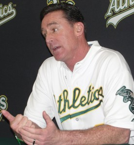 Bob Melvin: Jemile Weeks or Scott Sizemore? What the hell, let's just flip a coin!