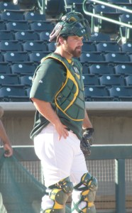 Derek Norris taking charge behind the plate