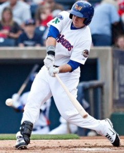 Midland's Anthony Aliotti leads all A's minor leaguers in batting average, on-base percentage and slugging percentage