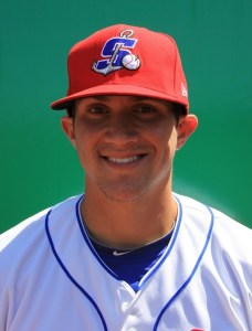 Midland RockHounds Outfielder Chad Oberacker (Home Run / Double / 5 RBIs / GWRBI)