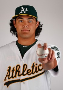 Sean Manaea made just 3 starts at Triple-A before joining the A's starting rotation.