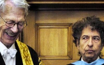 Bob Dylan's awkward moment
