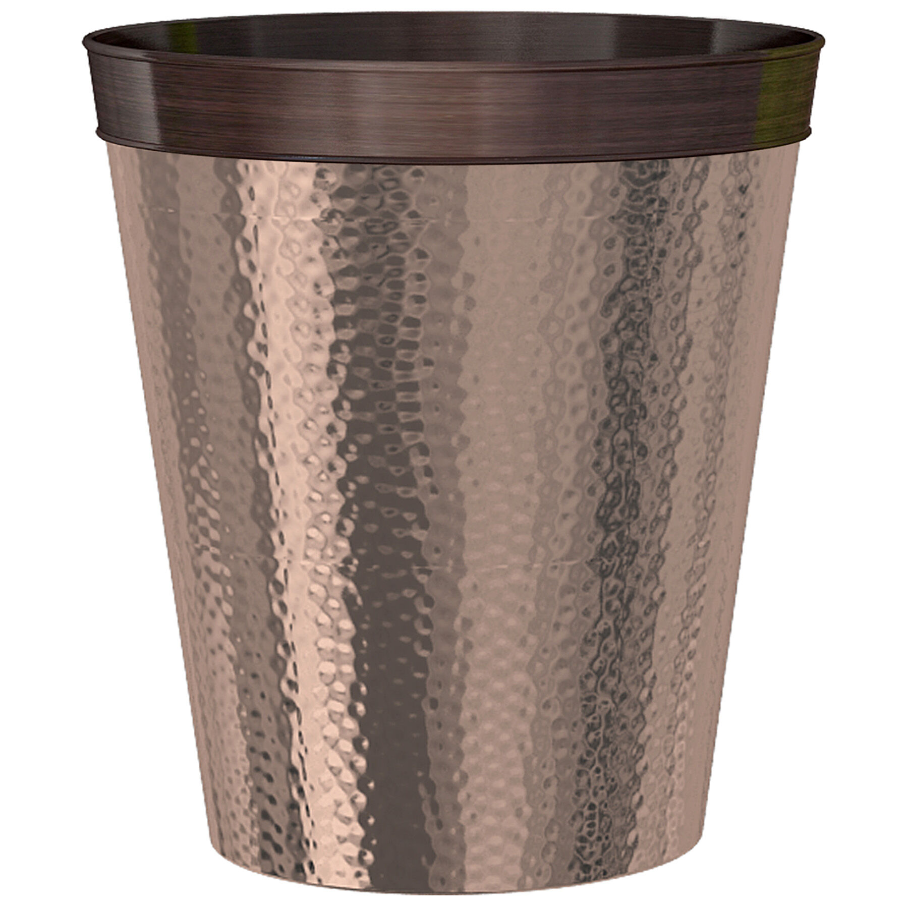 Copper Trash Can With Lid Copper Wastebasket At Home