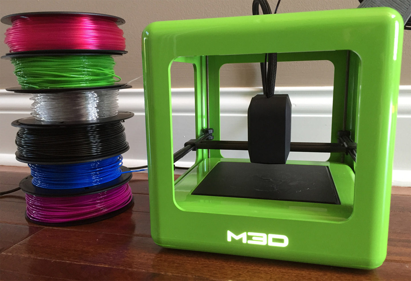 3d Micro Review M3d Micro 3d Printer At Home In The Future