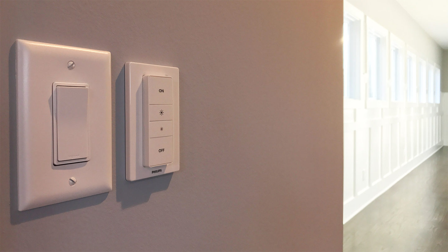 Philips Dimmer Quick Review Philips Hue Dimmer And Tap Switches At Home In The