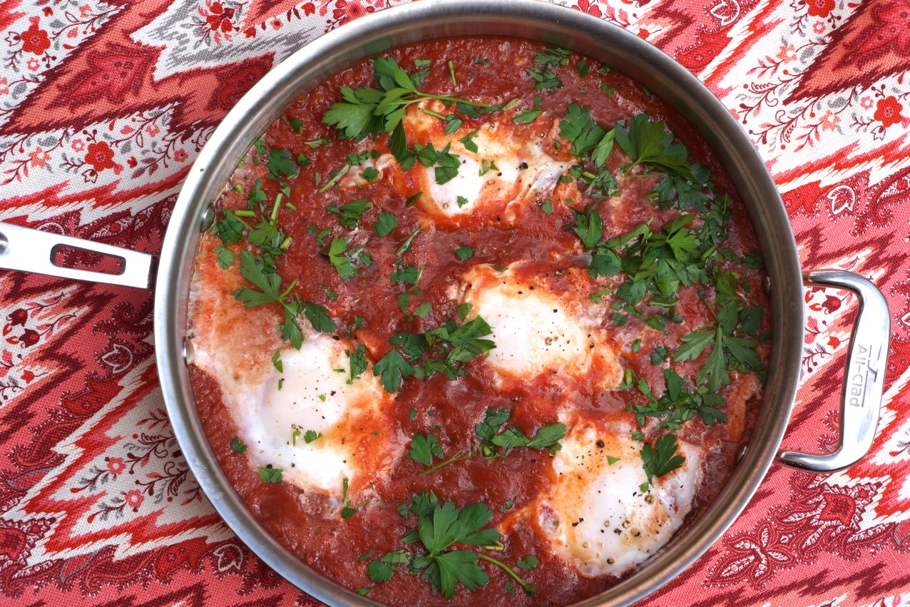 Shakshuka (New Year's Day Brunch)