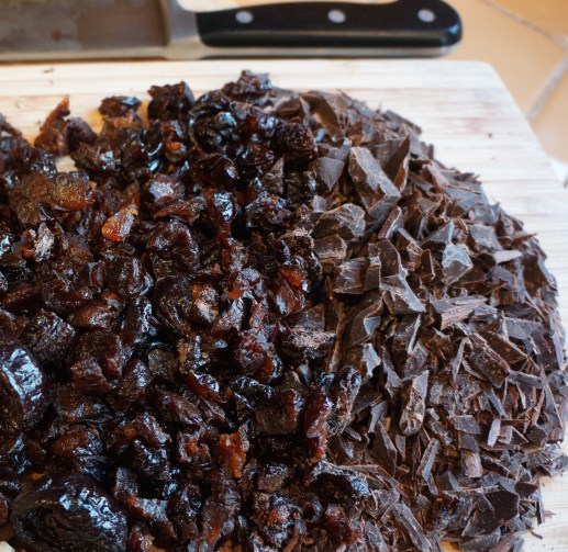 I loved David Lebovitz's recipe for this Chocolate Prune Cake which contains no flour, just oodles of chocolate and prunes.